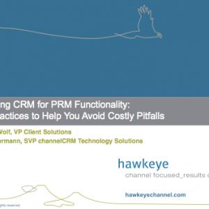 Webinar Spotlights Steps To CRM/PRM Integration