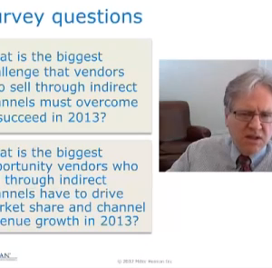 2013 Channel Challenges and Opportunities