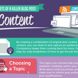 Secrets Of A Killer Blog Post: Content [Infographic]
