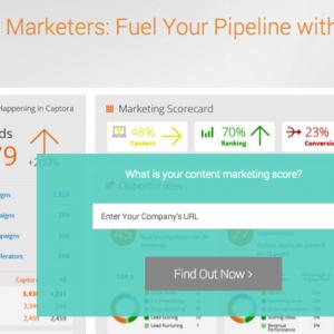 Captora Content Marketing Scorecard Stacks Assets Against Competitors