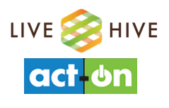 LiveHive-act-on_logos